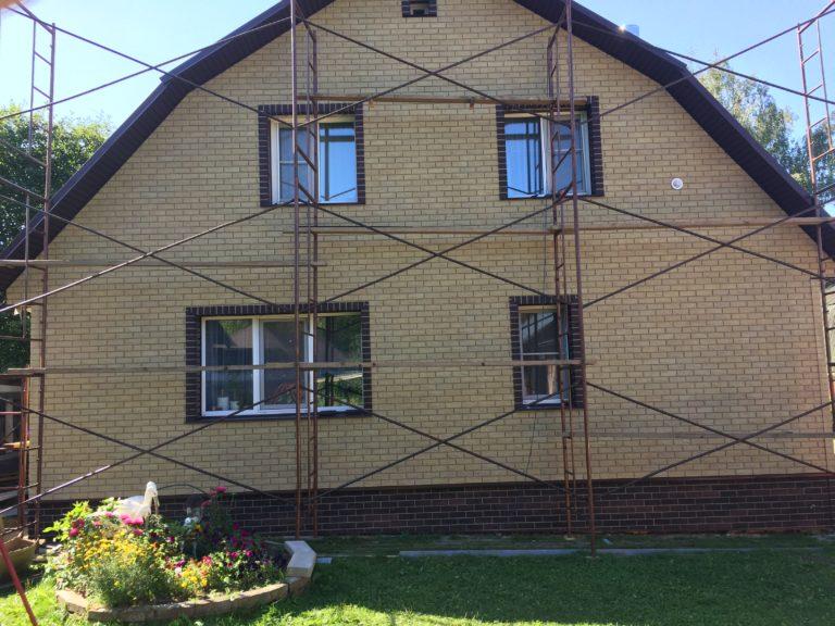 Отделка фасада панелями